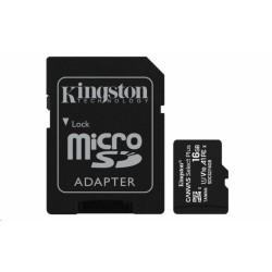 SDCS2/16GB Kingston - paměťová karta 16GB Micro SDXC Canvas Select Plus 100R A1 C10 Card + SD adaptér