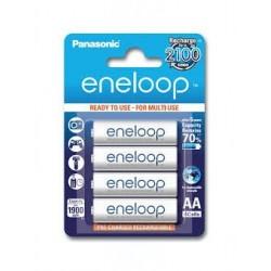 Baterie Panasonic Eneloop BK-3MCCE, AA 2000mAh, blistr 4ks