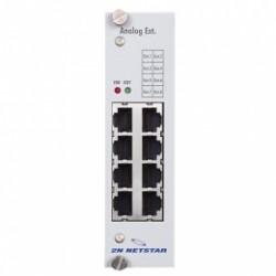 ATEUS-1011218 2N NetStar, modul 8 analogových vnitřních linek s CLIP AVL