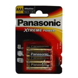 LR03/4BP Panasonic - Pro Power, AAA mikrotužková alkalická baterie, balení 4ks (cena za 1ks)