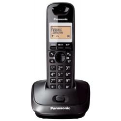 KX-TG2511FXT Panasonic - DECT bezdrátový telefon, 3-řádk. displej, CLIP, hlatisý tel., konference, titanová černá