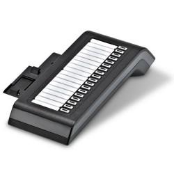 ATEUS-101604C 2N OpenStage Key, přídavná konzole operátora, 18 tlačítek, černá