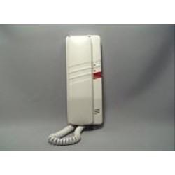 4FP21053.201 Tesla - Domácí telefon DT93 s 1 tl. na EZ + 2 tl. na protist. - elektron. vyzvánění (bílý)