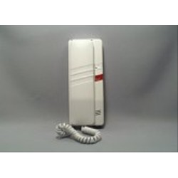 4FP21051.201 Tesla - Domácí telefon DT93 s bzučákem  s 1 tl. na EZ  (bílý)