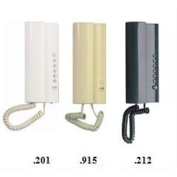 4FP21103.212 Tesla - Domácí telefon 2-BUS ELEGANT - antracit