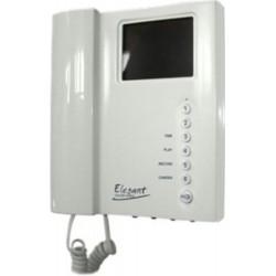 4FP21105.201 Tesla - Barevný videotelefon ELEGANT (bílý) s pamětí obrazu (vč. síťového adaptéru 4FK 151 51)