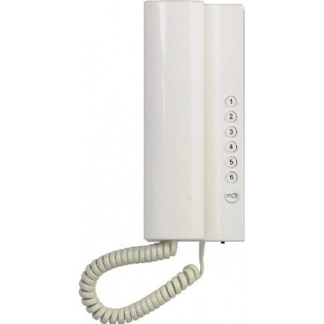 4FP21103.201 Tesla - Domácí telefon 2-BUS ELEGANT - bílý