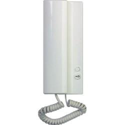 4FP21102.201 Tesla - Domácí telefon ELEGANT s elektronickým vyzváněním (bez bzučáku) - bílý
