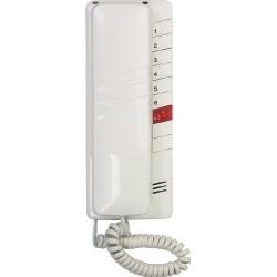 4FP11083.201/1 Domácí telefon 2-BUS s regulací hlasitosti vyzvánění   (bílý)