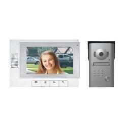 """RL-03M Emos - sada barevného videotelefonu a kamerové jednotky s 7"""" LCD displejem"""