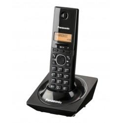 KX-TG1711FXB Panasonic - DECT bezdrátový telefon, 1-řádkový displej, CLIP, konferenční hovor, barva černá