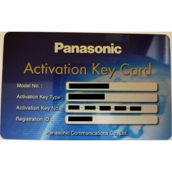 KX-NCS4701XJ Panasonic - karta aktiv. klíče 1 IP vnitřní kanál SIP tel.; pro KX-TDE