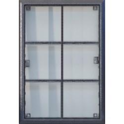4FF12716.2 Tesla - KARAT Montážní rám/6 stříbrný