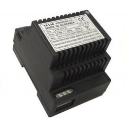 4FP67257 Tesla - Síťový zdroj pro 2-BUS (24V/0,25A DC a 8V/0,7A AC pro EZ) max. pro 100 DT