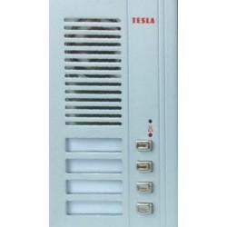 4FN23014 Tesla - GUARD Modul zvonkové tablo elektrický vrátný 4 tlačítka 4+n