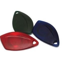 H02207/RX Bezkontaktní RFID přívěšek BES-key SAIL EM4102  červený