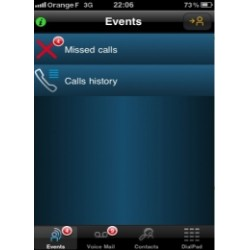 3EH03325AA ALCATEL SWL 1 additional off-site My IC mobile for iPhone user