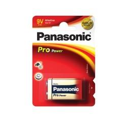 6LR61 Panasonic - Pro Power, baterie 9V alkalická, v blistru