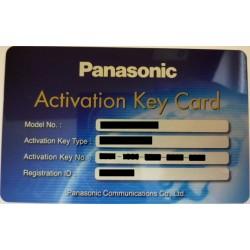 KX-NSU310W Panasonic - licence pro 2-cestný záznam/přenos - pro 10 uživat. terminálu NT, pro KX-NS500/700/1000