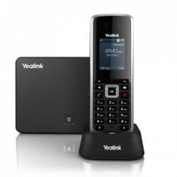 SIP-W52P Yealink - bezdrátový DECT IP telefon s barevným LCD (báze+ručka), POE, 5x SIP