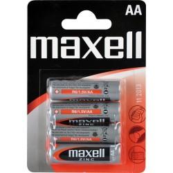 R6/4BP-M Maxell - AA tužková Zn baterie v blistru, balení 4ks (cena za 1ks)