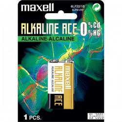6LR61-M Maxell - baterie 9V alkalická, v blistru
