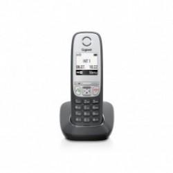 """GIGASET-A415 Gigaset - DECT/GAP bezdrátový telefon, seznam na 100 jmen, CLIP, 1,8"""" displ., až 4 sluch,barva černá"""