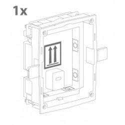 ATEUS-9155014 2N IP Verso, zápustná krabice pro instalaci do zdi, 1 modul