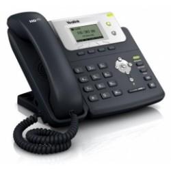 """SIP-T21P E2 Yealink - IP telefon, 2x SIP účty, LCD 2,3"""" 132x65 pix - podsvícený, 2x prog. tlačítek, 2x RJ45, POE"""