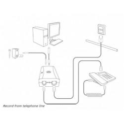 PICO-USB-LINE Pico USB Line - nahrávaní telefonních hovorů do PC, 1 linka, USB