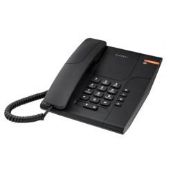 TEMPORIS-180B Alcatel - analogový telefonní přístroj bez displeje v černém provedení
