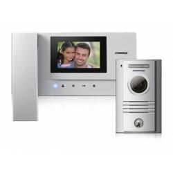 """CDV-35A+DRC-40K Commax - sada videotelefonu a dveřní stanice s 3,5"""" LCD displejem a kamerové jednotky"""
