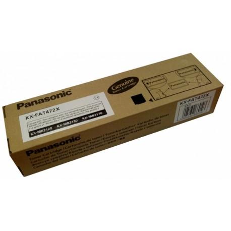 KX-FAT472X Panasonic - Toner černý pro KX-MB2120/2130/2170; 2000 stran