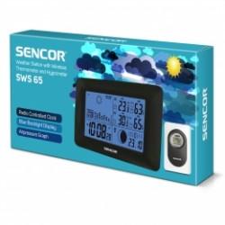 SWS 65 Sencor - meteostanice s bezdrátovým sensorem měření teploty a vlhkosti