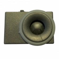 ATEUS-PL V21002 A 2N Vario, náhradní plastový zvukovod reproduktoru, šedý (Analog/IP)
