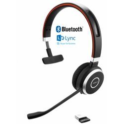 EVOLVE-65-MONO-MS Jabra - bezdrátová náhlavní souprava pro PC, Bluetooth, USB, NFC, spona přes hlavu, na jedno ucho