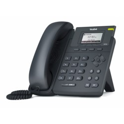 "SIP-T19P E2 Yealink - IP telefon, 1x SIP účet, LCD 2,3"" 132x65 pix, 2x RJ45 Mb/s, POE"