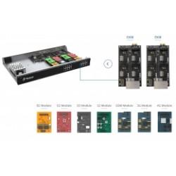310A672 Yeastar IP ústředna S100, 100 (200) uživatelů, 30 hovorů, až 16 portů pro FXS, GSM, FXO a BRI, rack