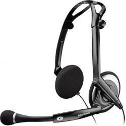 AUDIO 400DSP Plantronics - náhlavní souprava pro PC, spona přes hlavu, na obě uši, USB