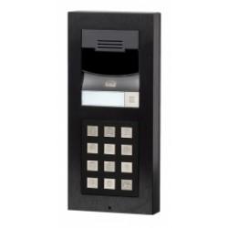 ATEUS-9155101CB 2N IP Verso, dveřní interkom, 1 tl., HD kamera, černý