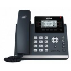 """SIP-T41S Yealink - IP telefon, 6x SIP účtů, LCD 2,7"""" 192x64pix - podsvícený, 15x prog. tlačítek, POE, 100Mb/s"""