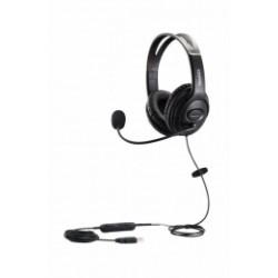 MRD-806D Well Mairdi - náhlavní souprava na obě uši pro PC, USB, s ovládáním hlasitosti