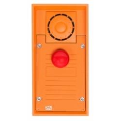 ATEUS-9152101MW 2N IP Safety, dveřní interkom, 1 červené nouzové tlačítko, IP69K, 10W