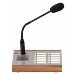 ATEUS-914431E 2N SIP Mic Organic, hardwarová konzole s mikrofonem, 12 zón, line in, relé, PoE