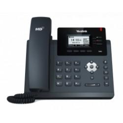 "SIP-T40G Yealink - IP telefon, 3x SIP účty, LCD 2,3"" 132x64pix - podsvícený, 3x prog. tlačítek, POE, 1Gb/s"