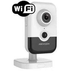 DS-2CD2443G0-IW/28 Hikvision - 4MPix IP kamera cube; ICR+IR+PIR; obj. 2,8mm + WDR + POE + WIFI