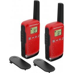 TLKR T42 RED Motorola - sada 2 vysílaček PMR446, dosah až 4 km