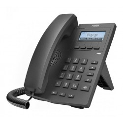 X1P Fanvil - IP telefon, 2x SIP linky, 128x48px podsvícený LCD, 2x RJ45 Mb, POE