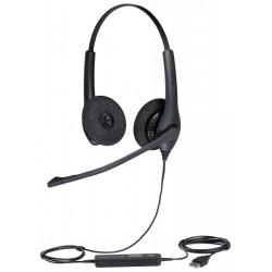 BIZ-1500-NC-DUO-USB Jabra - náhlavní souprava pro PC (USB), spona přes hlavu, na obě uši (1559-0159)