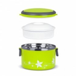 TM-100green ELDOM Promis - LUNCHBOX teplotně izolovaný hermetický box s objemem 1 litr, zelená